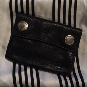 Marc by Marc Jacobs Black Leather Mini Wallet
